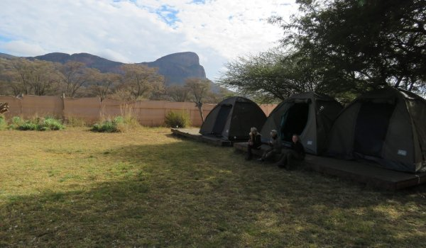 Wildlife Research Africa tented camp